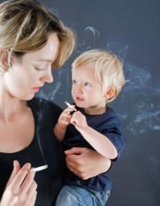 Кормление грудью и курение